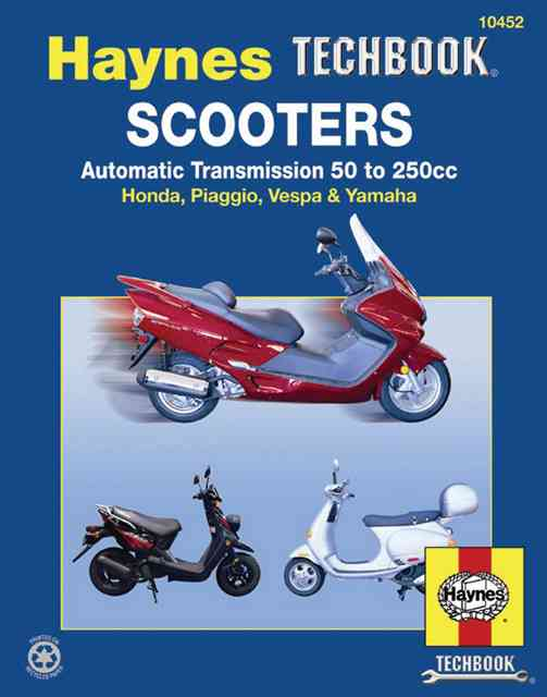 Scooters Service and Repair Manual By Mather, Phil/ Ahlstrand, Alan